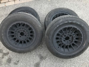 """15""""  Tires mounted on Mags"""
