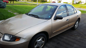 2004 Chevy cavilier