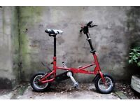 KUBU. Express folding bike, single speed.