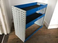 Van Shelving / Racking - Heavy Duty - Small Van - 2 shelf