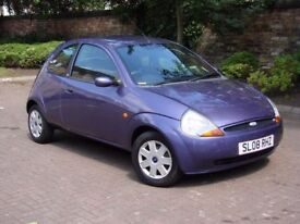 EXCELLENT VALUE!!! 2008 FORD KA 1.3 STYLE, ONLY 57000 MILES, 1 YEAR MOT, WARRANTY
