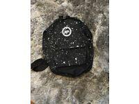 Starry black backpack girls