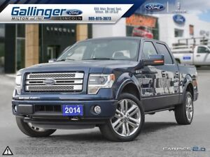 2014 Ford F-150 LIMITED w/SPRAY-IN LINER AND ONE LOCAL OWNER