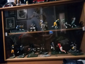 McFarlane football figurines.