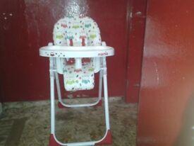 Babys hi chair