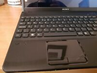 EXCELLENT CHEAP SONY LAPTOP 15.6 INCH 6 GIG DDR3 MEM 320 HDD CORE i3. WIN 10 REFURBISHED