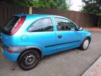Vauxhall corsa club 16V Full year MOT