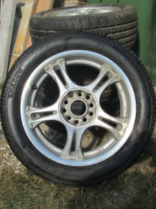 American Racing AR-95 Rims with tires