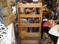 SOLID PINE BOOKCASE/SHELVING
