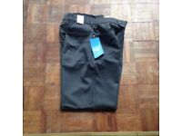 BNWT Mens grey wool trousers RRP£29.99 size 30s