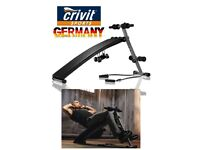 CRIVIT SPORT WORKOUT BENCH (New and sealed)