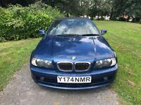BMW 3 Series 2.5 325Ci 2dr£1,500 2001 (Y reg), Convertible