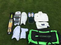Various cricket items