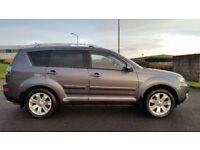 2008 MITSUBISHI OUTLANDER II-2.2 DI-DC DIAMOND 4X4-DVD-SAT NAV-LEATHER-SUNROOF-7 SEAT-PART X WELCOME