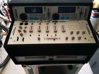 Kam twin CD mixers x2