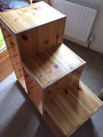 IKEA Trofast Frame - Light white stained pine