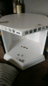 Dog bed end Table