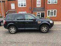 Land Rover Freelander SE TD4 2.2 automatic 91,000 rare beige and blue interior, sat nav, Bluetooth