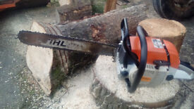 Stihl 038AV Chainsaw