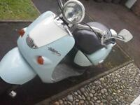 moped runs well mot til November £ 230