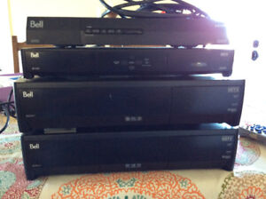 BELL EXPRESSVU HD AND HD PVR RECEIVERS FOR SALE