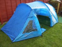 Mountain Warehouse Mini Break 4 Tent - in Two Tone Blues