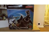 Thrustmaster T-flight Hotas X Joystick & throttle