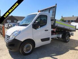 2014 64 RENAULT MASTER 2.3 ML35 DCI TIPPER 125 BHP REAR WHEEL DRIVE 14,872 MILES