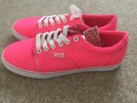 Vans Trainers, Pink, Brand New With Tags