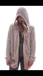 Talula knit cardigan with hood size S