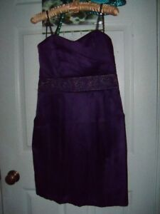 Bridesmaid / Prom Dress, Purple, Short, Brand NEW, etc.