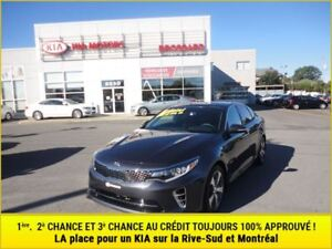 2016 Kia Optima SX Turbo 3.09%**Pneus d'hiver**