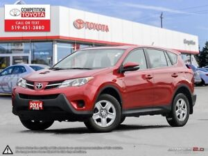 2014 Toyota RAV4 LE One Owner, No Accidents