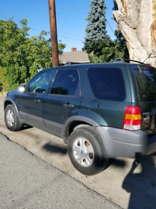 2003 ford escape LOW KMS PRICE REDUCED $3500