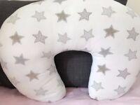Baroo Beige Stars Nursing Pillow