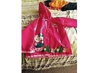 Hello Kitty raincoat aged around 5yrs, only worn handful of times, from pet and smoke free home