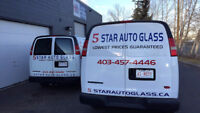 5 STAR AUTO GLASS Windshield Replacements & Repairs 403-457-4446