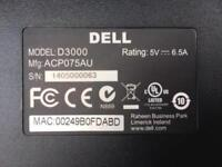 Dell D3000 J22N2 0J22N2 ACP075US Super Speed USB 3.0 HDMI DVI w// USB 3.0 Cable