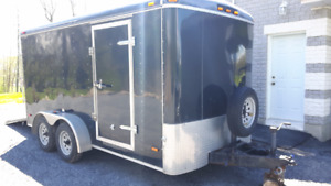 7x14 Cargo Trailer with Cabinets
