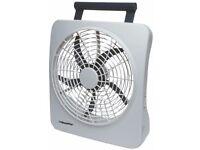 ROADPRO 2 Speed Portable Fan 10'' 12V C3212A (F)