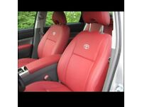 MINICAB LEATHER CAR SEATCOVERS TOYOTA PRIUS 2000-2017