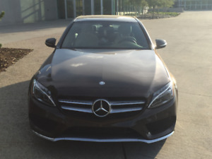 2015 Mercedes-Benz C-Class Full Loaded Sedan Lease takeover $547