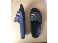 Bape slippers size 7