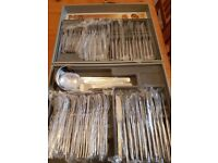 Retro cutlery. 63-piece set. NEW!