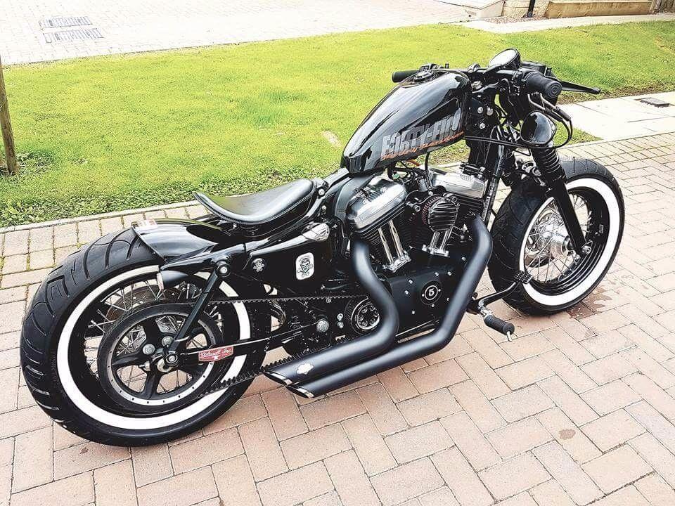 Harley Davidson Sportster  Custom Manual