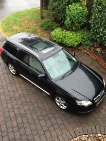 Subaru Legacy 3.0 R auto estate in a great condition, well looked after and serviced all the time.
