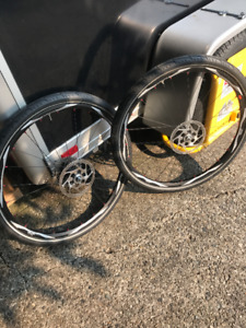 295.00 Shimano Deore XT WH-M775 Wheelset and Michelin City Tires