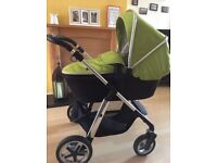 Silver cross pioneer travel system very good condition