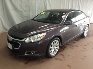 2015 Chevrolet Malibu 2 LT Leather Bolstered