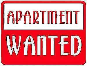 WANTED  Apartment  WANTED